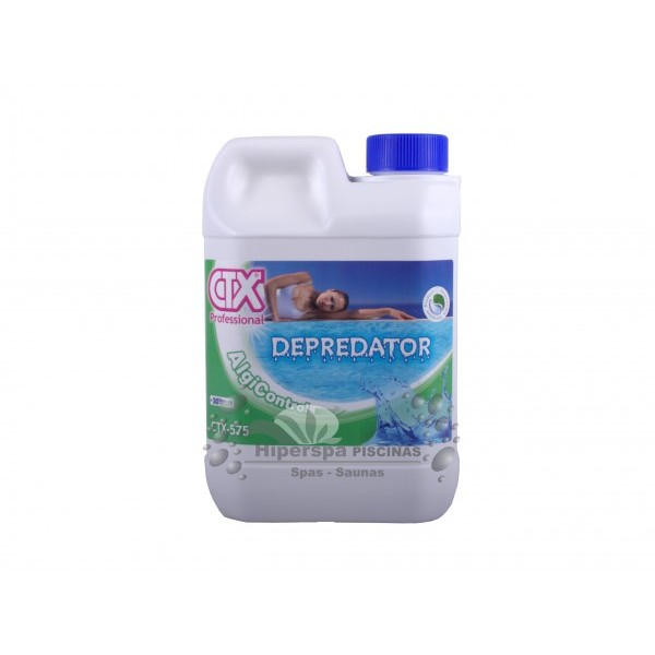 Antialgas piscina ctx 575 depredator 2 lt hiperspa for Antialgas piscina