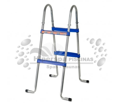 Escalera piscinas elevadas gre 98 cm hiperspa for Escaleras para piscinas gre