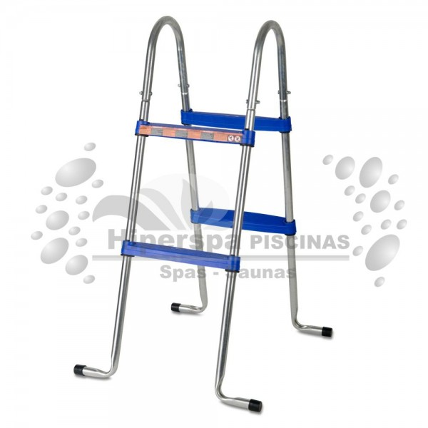 Escalera piscinas elevadas gre 98 cm hiperspa for Escalera piscina