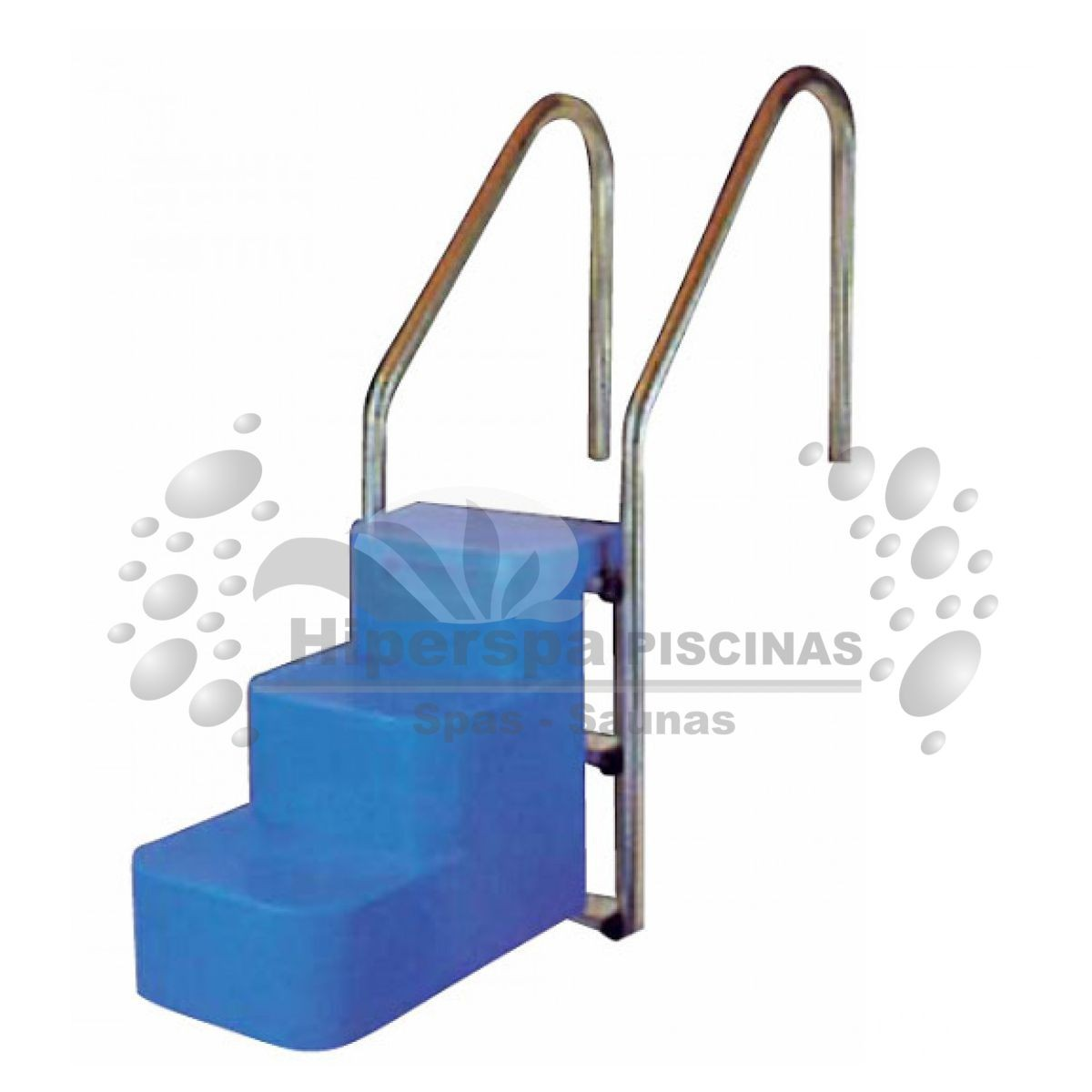 Escalera salvamascotas para piscina hiperspa for Escaleras para piscinas desmontables carrefour