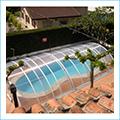 cubiertas elevadas para piscinas