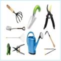 herramientas de jardín y huerto