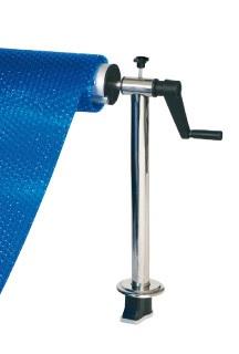soporte empotrar para tubo telescópico