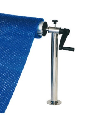 soporte pletina para tubo telescópico