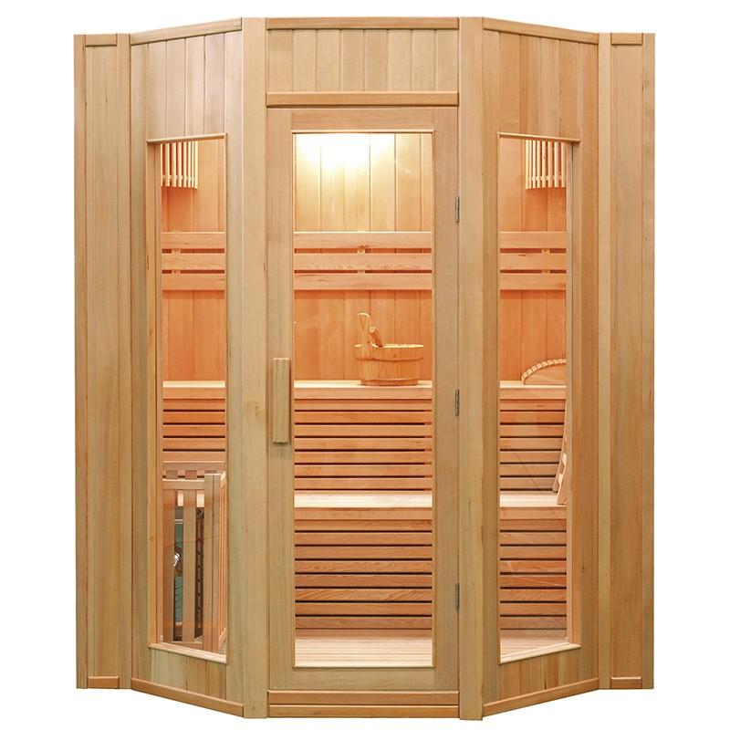 Sauna de infrarrojos Francia-Sauna de lujo 3 lugares