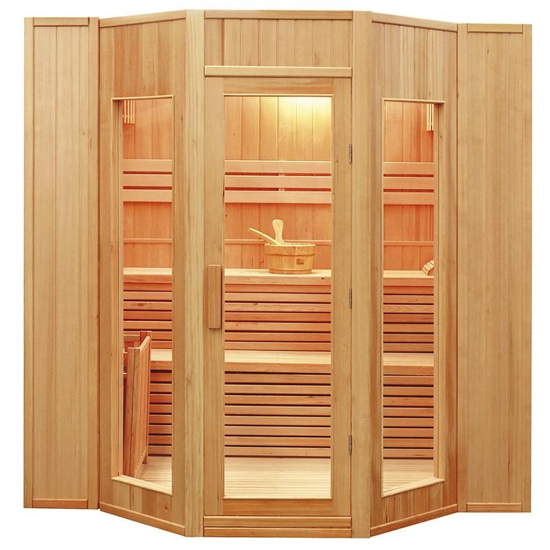Sauna de infrarrojos Francia-Sauna de lujo 3/4 lugares