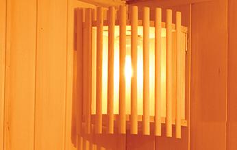 Panel de control de sauna doble Luxe