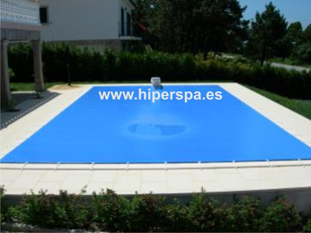 Lona para piscina eco 5 x 3 cobertor invierno hiperspa for Cobertor piscina invierno